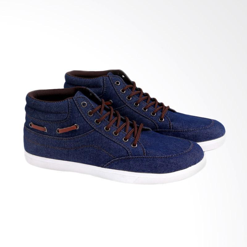 Garucci GRW 1178 Sneakers Shoes Sepatu Wanita - Blue