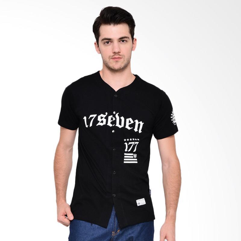 17seven Original Jersey Unknow T-shirt Pria - Black
