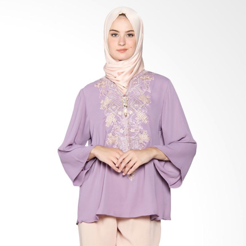 Yanna Azwar Katalia Blouse Muslim - Purple