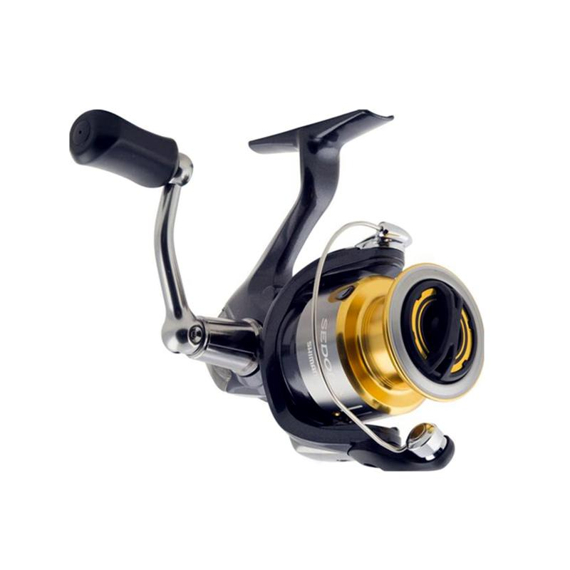 harga Shimano Sedona C5000FE Spinning Reel Pancing - Gold Black Blibli.com