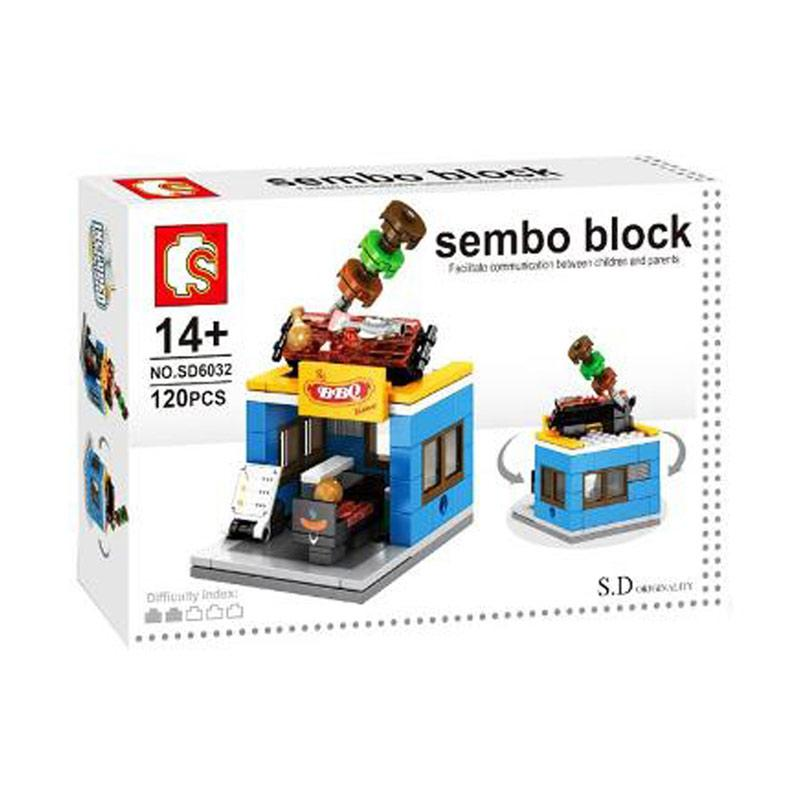 Sembo Block BBQ Store Blocks & Stacking Toys