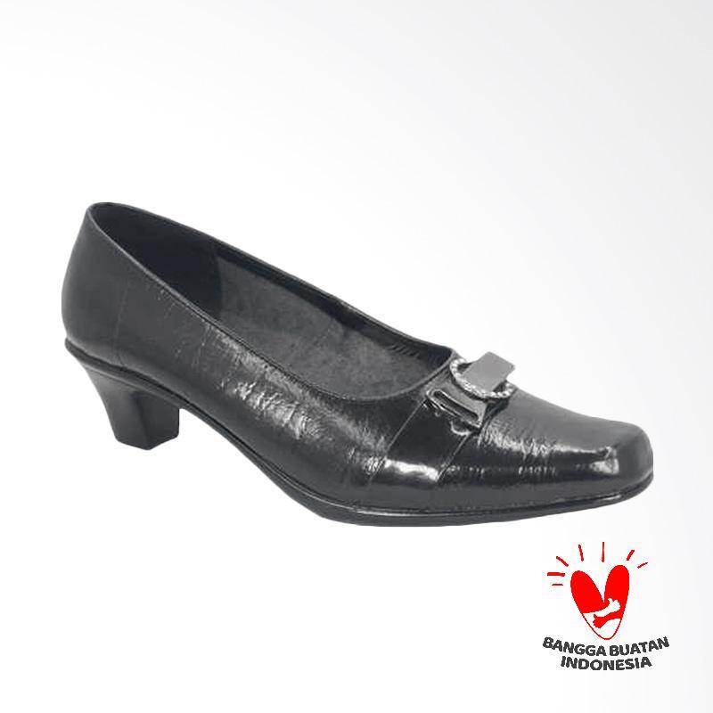 GRUTTY JMS 111 Sepatu Heels Wanita - Hitam
