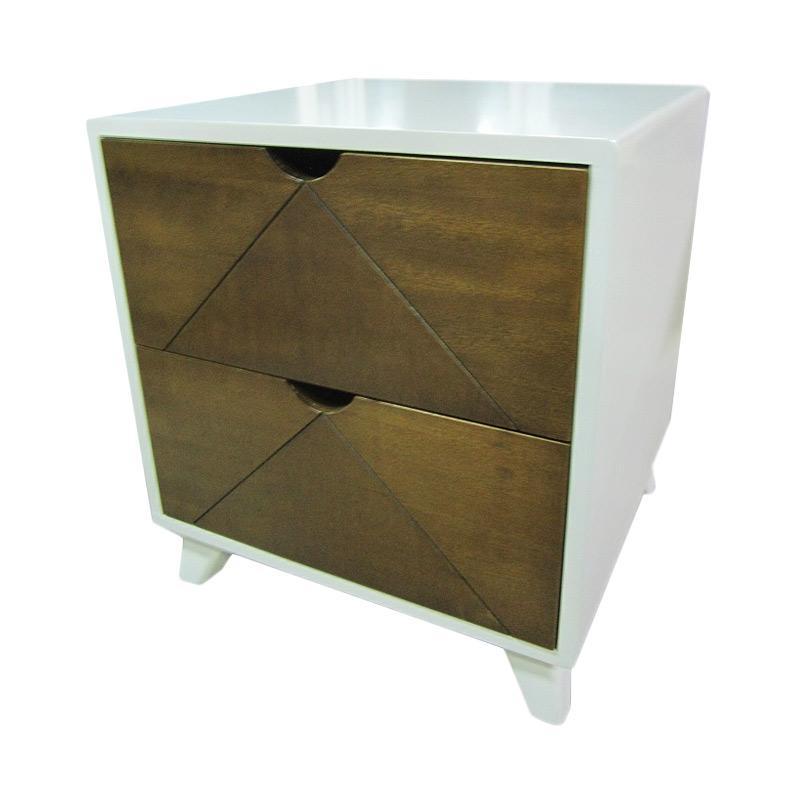 Furindo N2D Nakas - Faux Wood [2 Drawer/JABODETABEK]