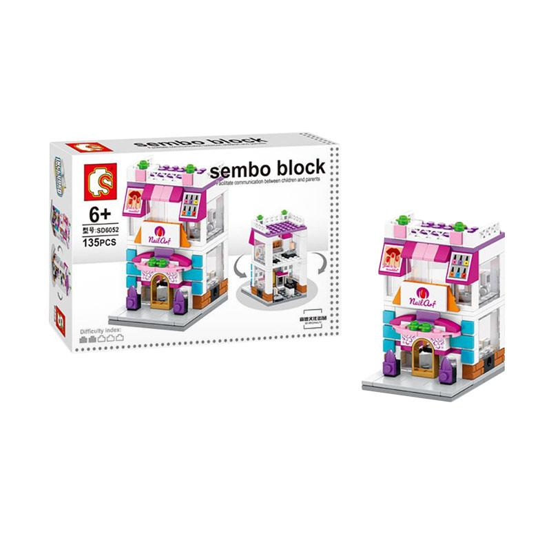 Sembo Sd6052 Nail Art Mainan Mini Blocks