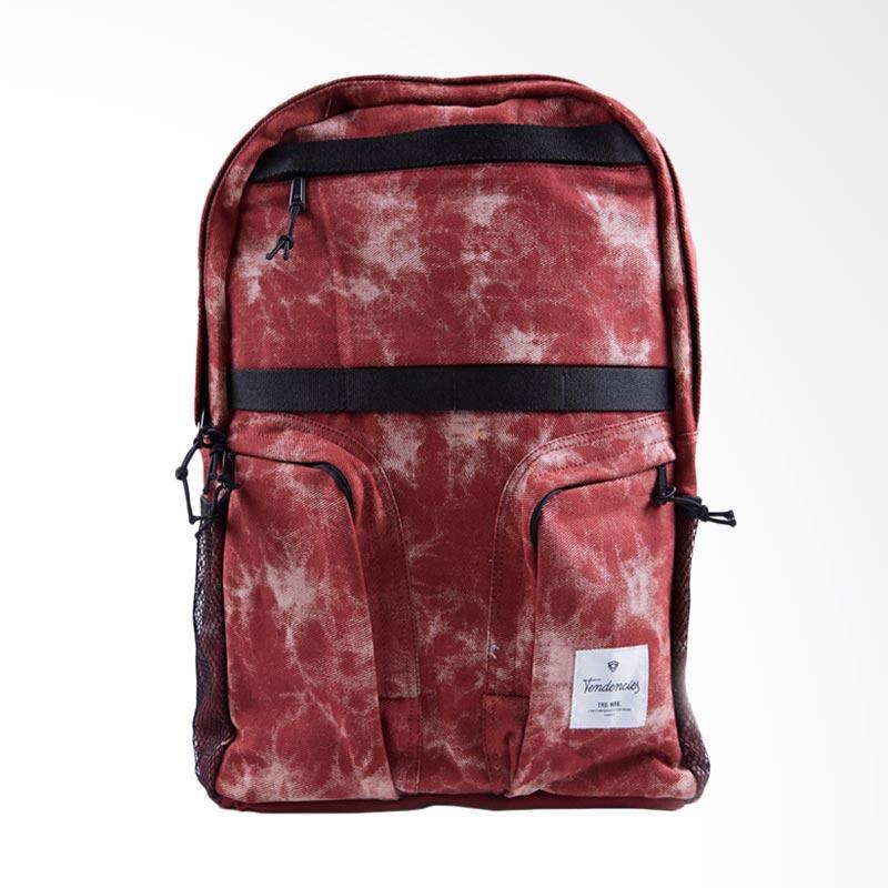 Tendencies Back Pack Opposites Tas Pria - Merah
