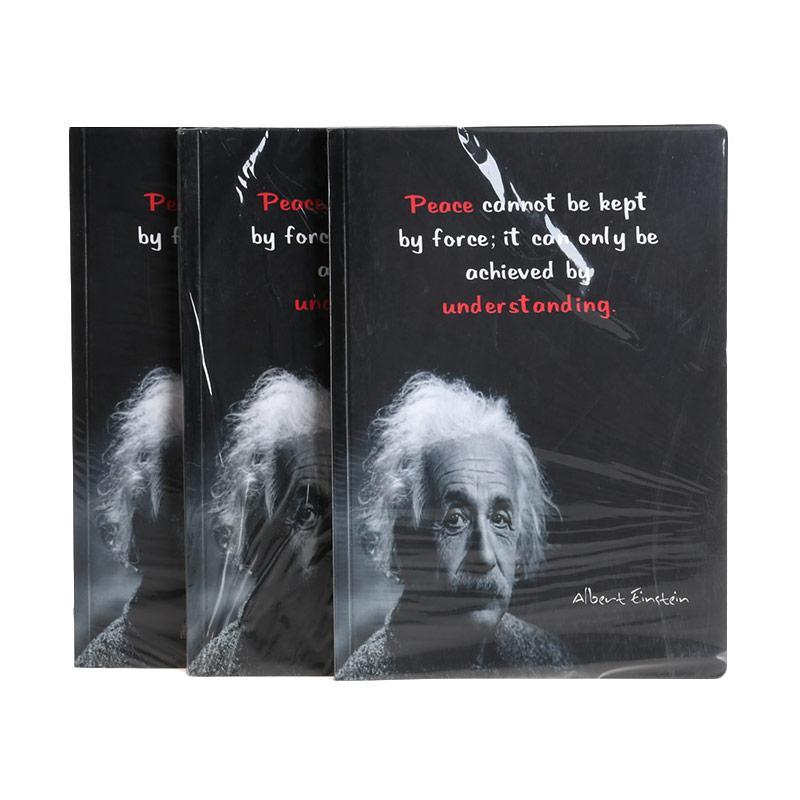 Karisma Exclusive Set Buku Tulis Peace Cannot Be Kept by Force Buku Tulis Exclusive [A5/80 g/3 pcs] - 748430
