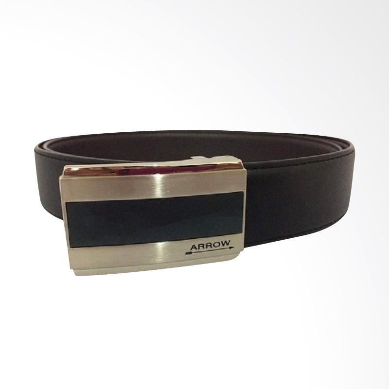 Arrow Leather Belt Ikat Pinggang Pria - Black BP-AR2124FHB-A35-1142