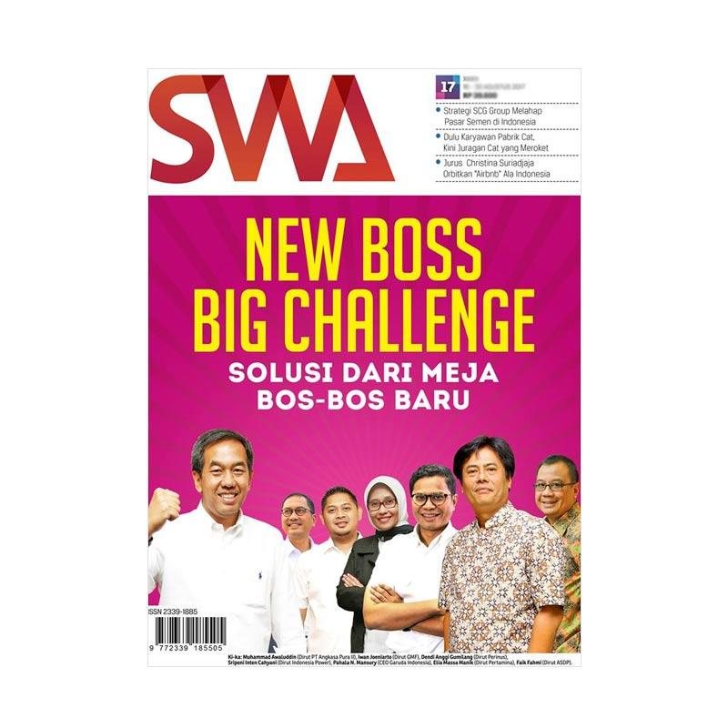 SWA New Boss Big Challange Edisi 17/2017 Majalah