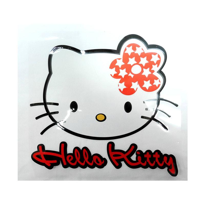 SIV Sticker Mobil - Universal Motif Kitty Red - Meduim - STI-HK409 RD