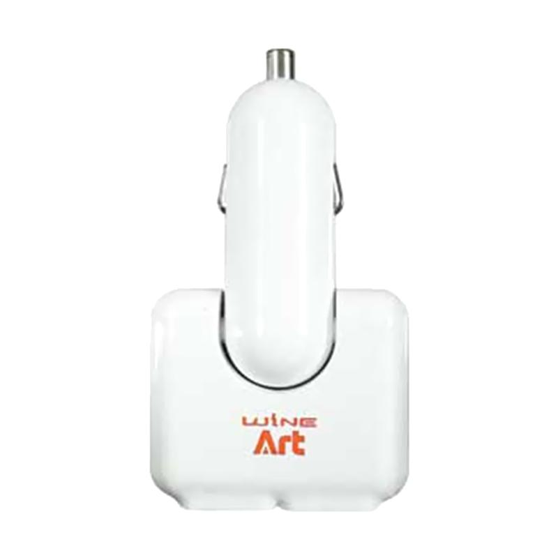 Autoban AW-Z59 Booster USB Twin Car Charger - White