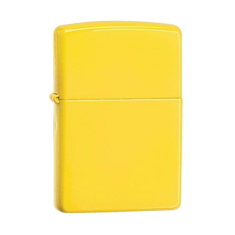 Zippo Pocket Lighter - Lemon Matte