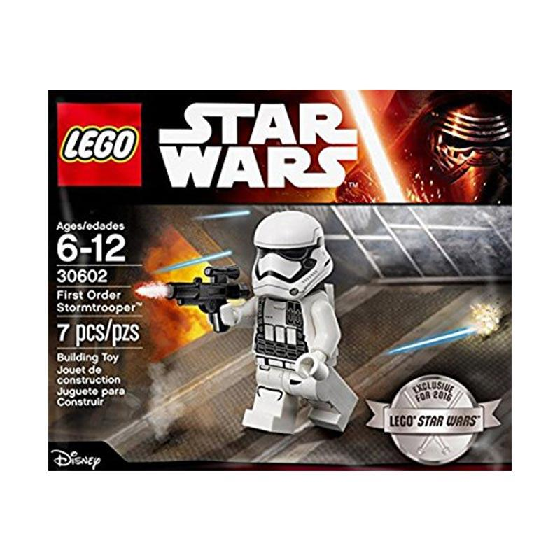 Lego Polybag Star Wars 30602 First Order Stormtrooper Blocks & Stacking Toys