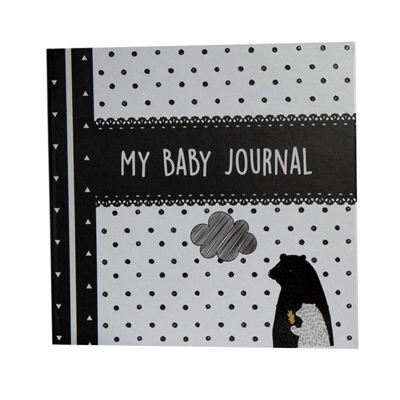 Hugmemom My Baby Journal Mono Bear