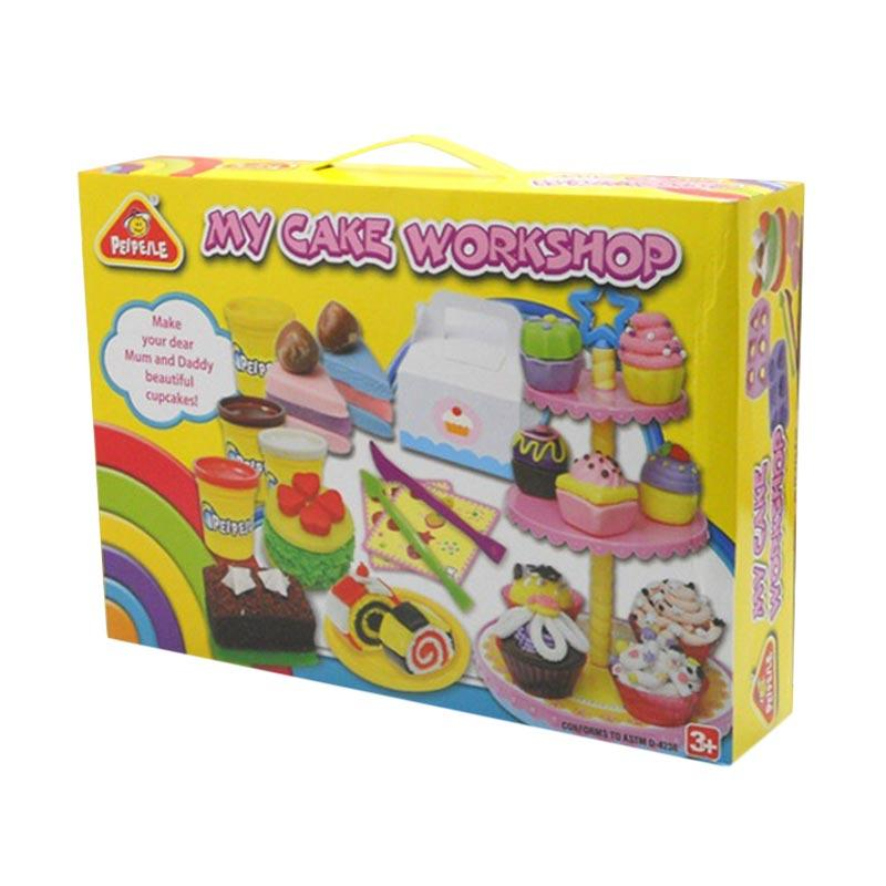 Play Dough MY CAKE WORKSHOP Mainan Lilin Anak