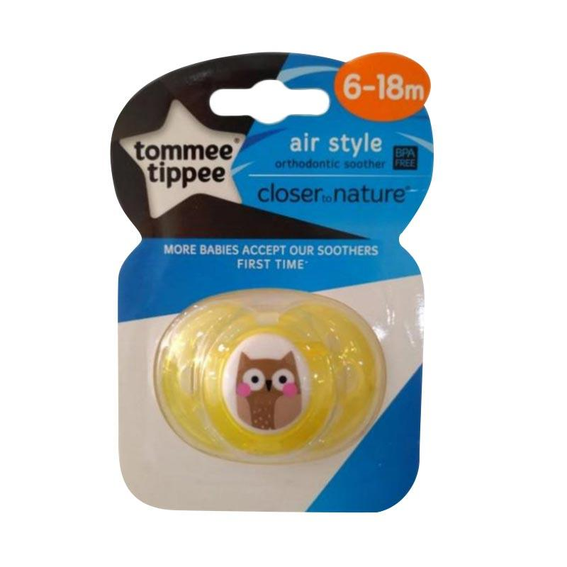 Tommee Tippee Air Style Owl Empeng Bayi - Yellow