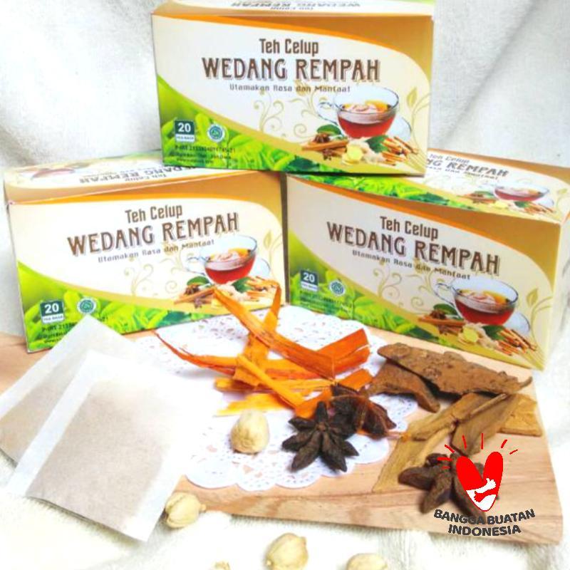 Sari Daun Wedang Rempah Teh Celup [2 g/20 Tea Bags]