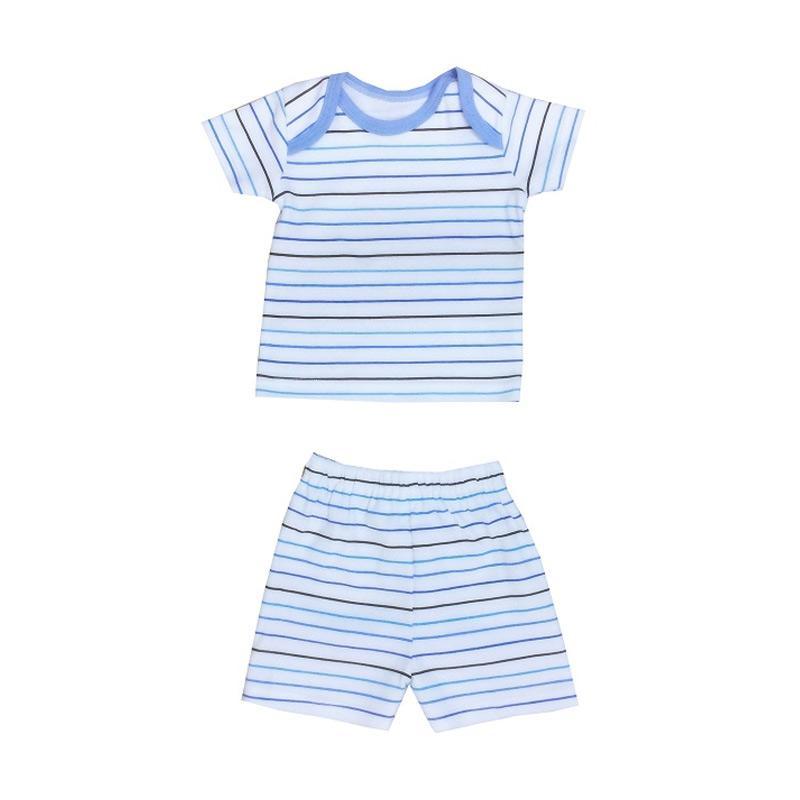 PLEU Salur Boy Set Baju Pendek Bayi