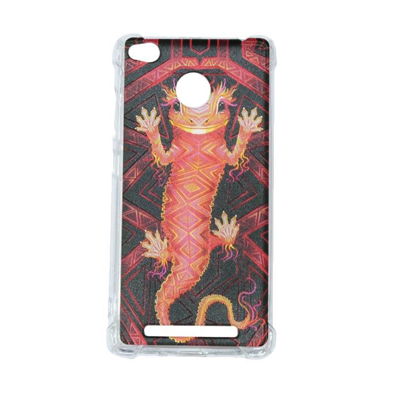 harga QCF Softcase Rimba Motif Tokek Anti Shock Anti Crack Silicone for Xiaomi Redmi 3X Case Jungle / Casing Gambar Blibli.com