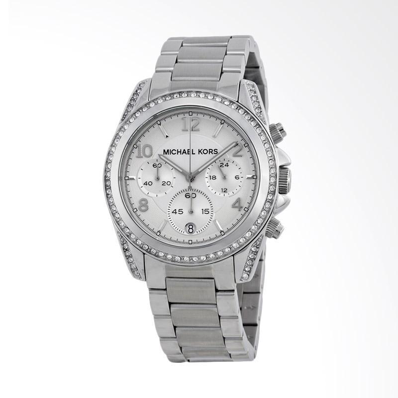 Michael Kors MK5165 MK5165 Jam Tangan Wanita - Silver