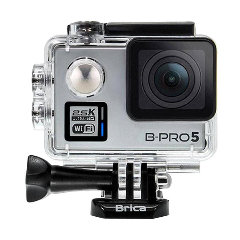 BRICA B-PRO 5 Alpha Plus Version 2 AP2 Combo 3 Way Extreme Action Cam - Silver