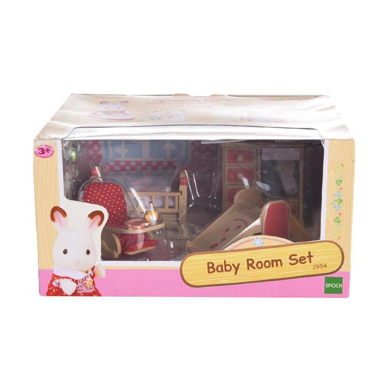 Sylvanian Families Baby Room Set Mainan Anak