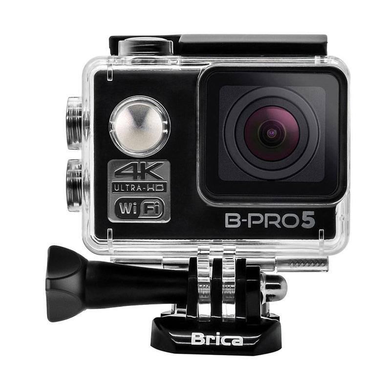 Brica B-PRO 5 Alpha Edition Mark II AE2 Action Camera with Monopod - Hitam