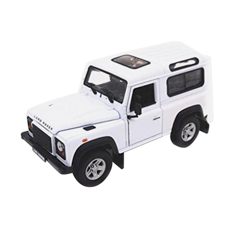 White Land Rover >> Welly Land Rover Defender Diecast White