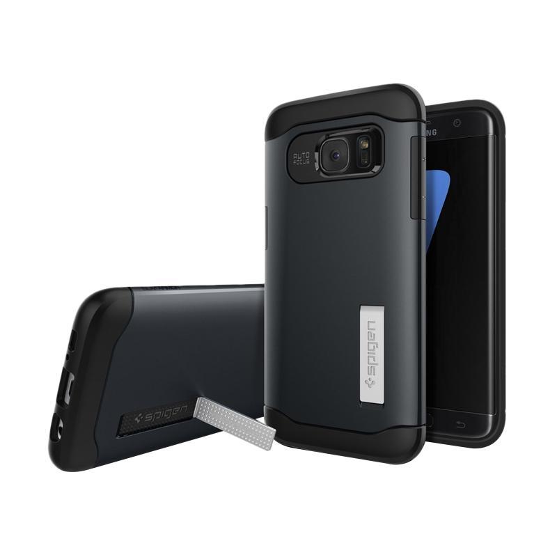 Spigen Slim Armor Casing for Samsung Galaxy S7 Edge 2016 - Metal Slate