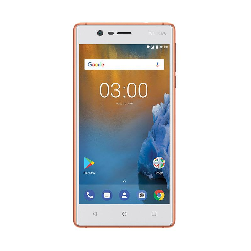 Nokia 3 Smartphone - Copper White [16GB/2GB]