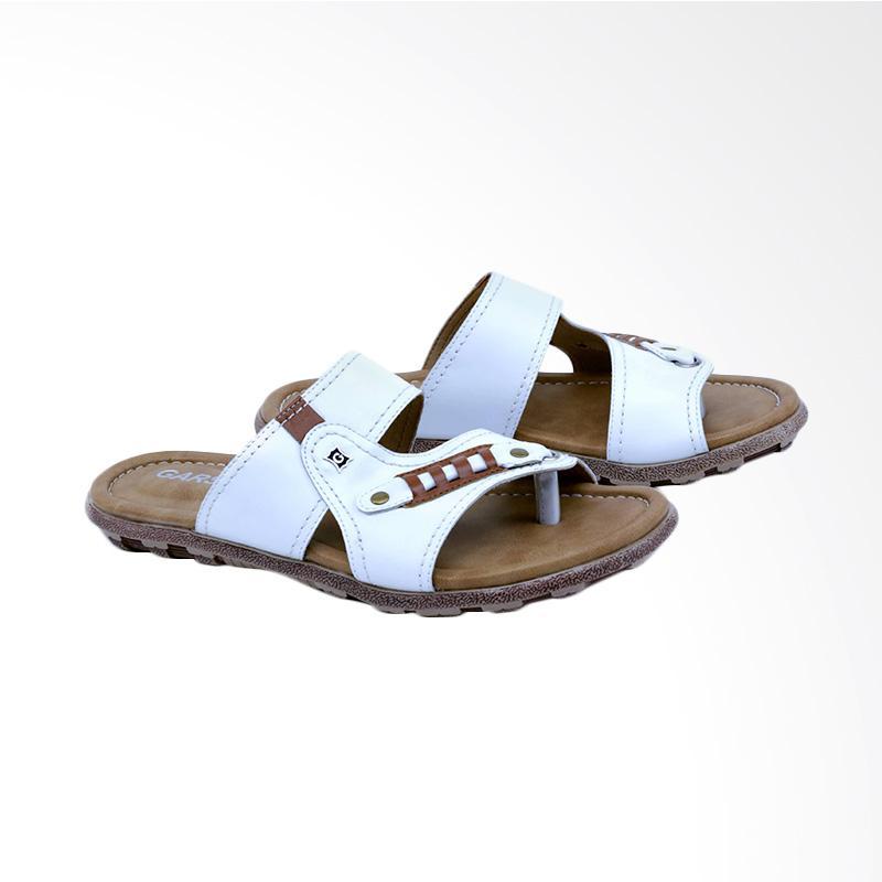 Garsel Sandal Kasual Pria - Putih GA 3404
