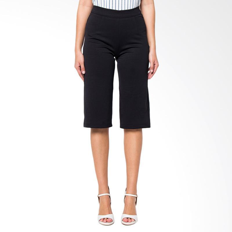 A&D Fashion MS 517 Classic Collote Pant's Wanita - Black