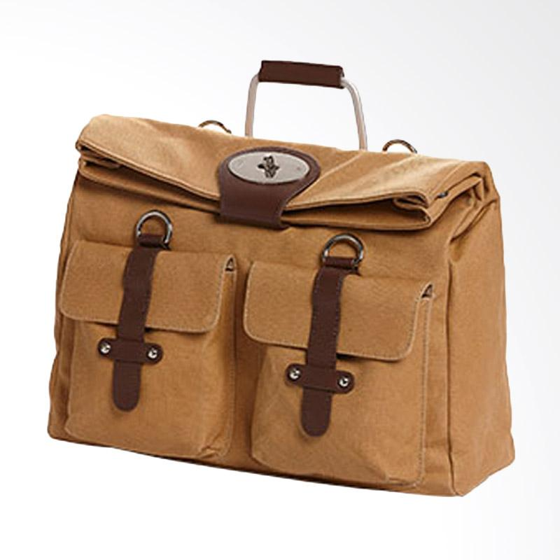Amore Daniel Packer 14 inch Multiway Bag Hand Bag - Khaki