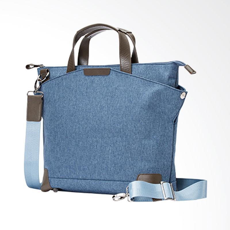 Amore Daniel Walker Briefcase - Blue