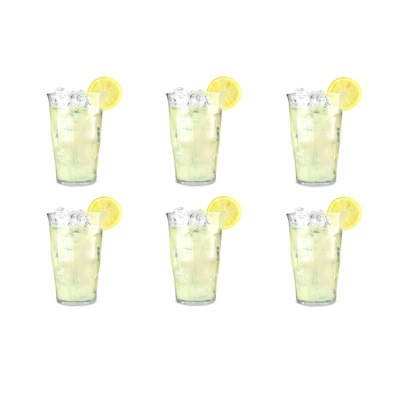 Duralex Picardie Tumbler Set Gelas - Clear [500 mL/6 pcs]