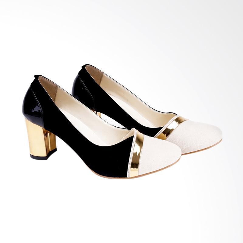 Garucci GBU 4199 Mid Low Heels Wanita