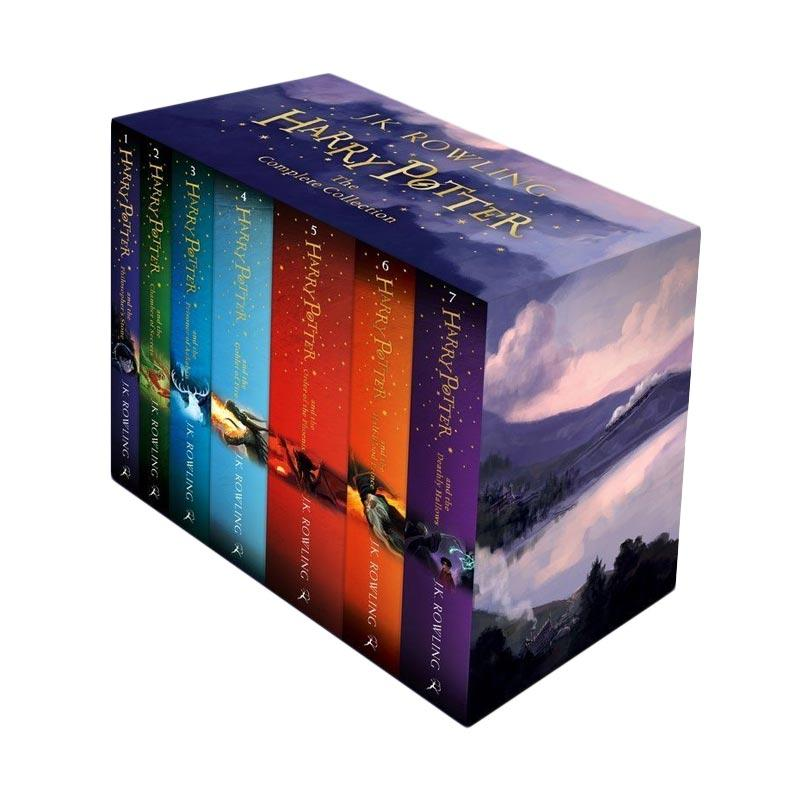 J. K. Rowling Harry Potter Box Set: the Complete Collection Paperback by Joanne K. Rowling Buku Novel