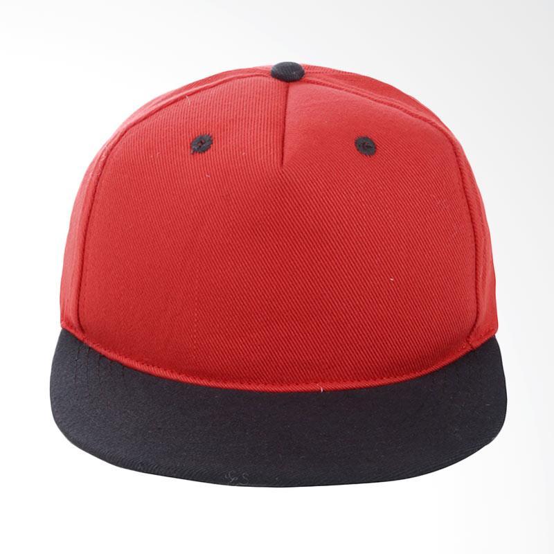 Harga Elfs Shop Kombinasi Merah Topi - Hitam Murah