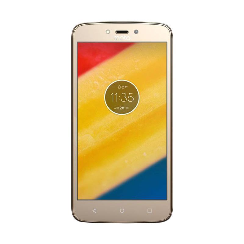 Motorola Moto C Plus Smartphone - Gold