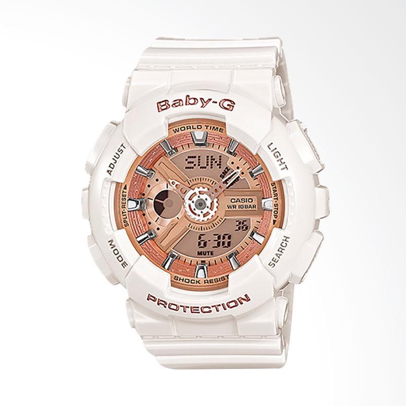 CASIO Baby-G BA-110-7A1DR Jam Tangan Wanita - White