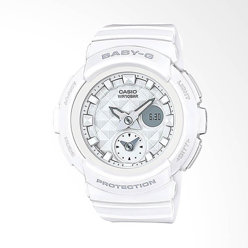 CASIO Baby-G BGA-195-7ADR Jam Tangan Wanita - White