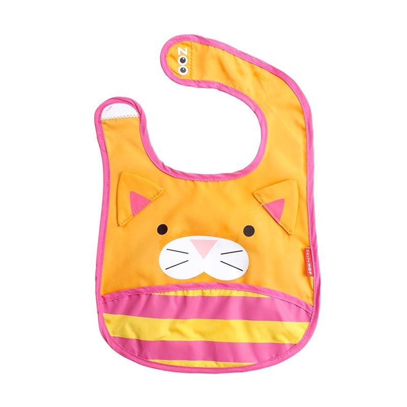 Skiphop Zoo Bib Cat Celemek Bayi