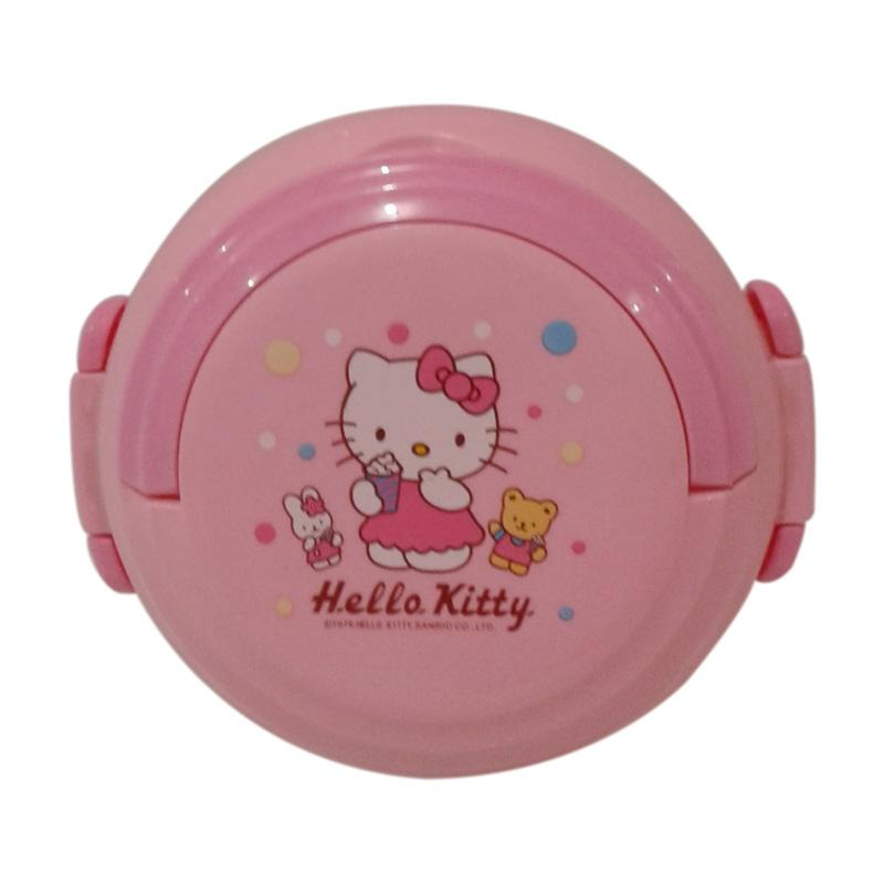 Hello Kitty HK And The Friends Set Tempat Makan - Pink