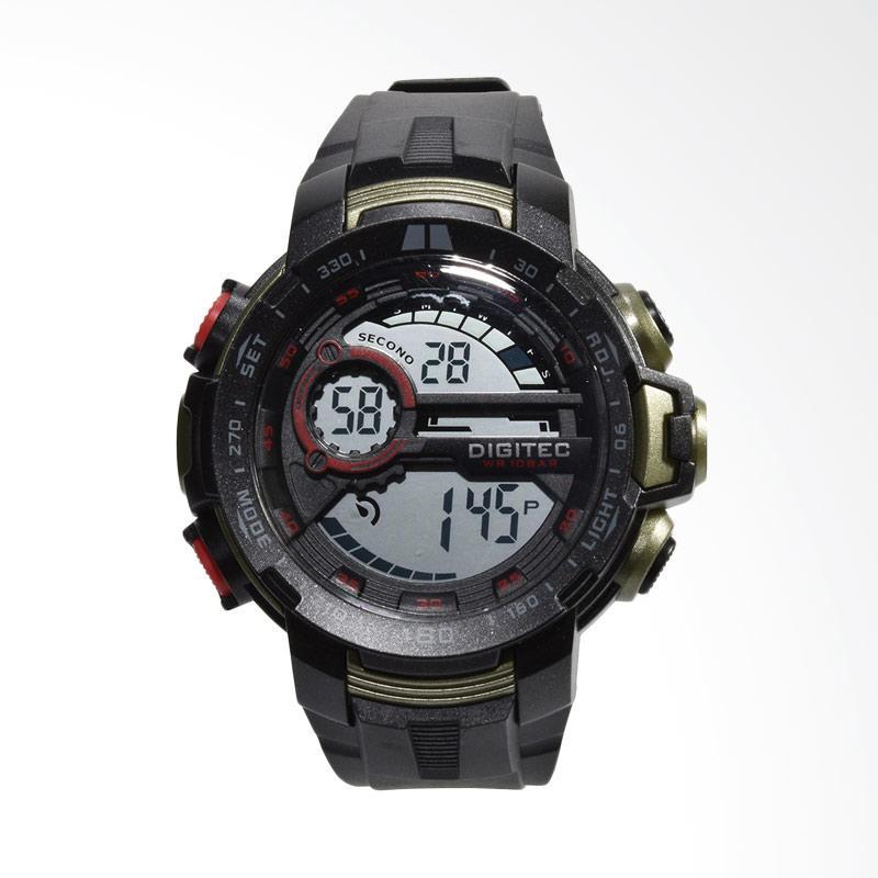 Digitec Jam Tangan Pria - Hitam DG3053-A