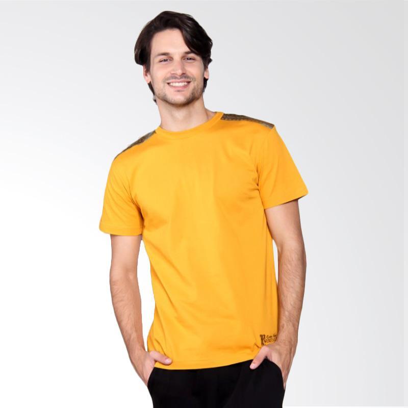 Batik Heritage Heritage Songket T-Shirt Pria - Yellow