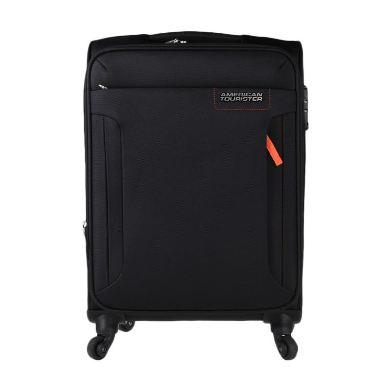 American Tourister AT Troy Spinner 56/20 TSA Trolley Bag - Black [ACR32O00900100556#]