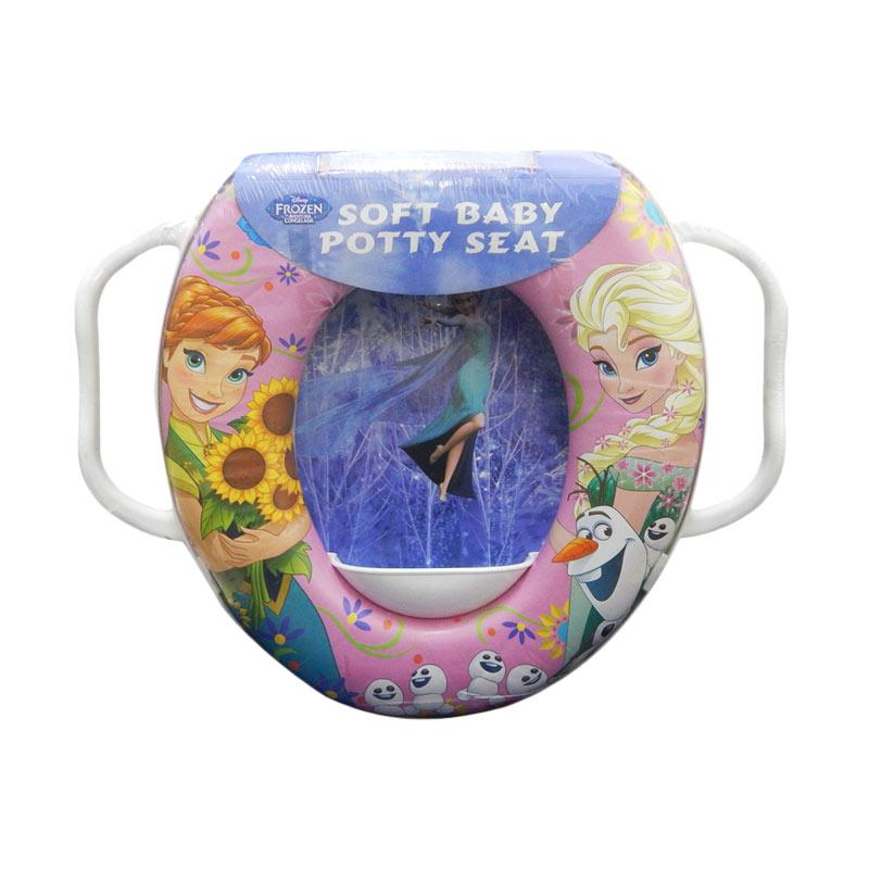 Soft Baby Potty Seat Frozen Elsa Anna with Handle Toilet Training