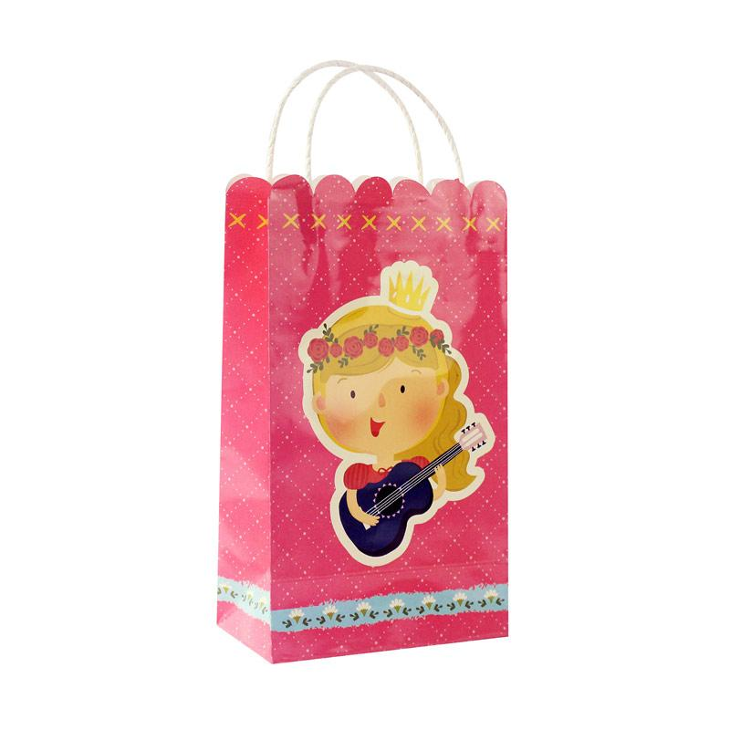 Wola Fiona The Royal Princess Goodie Bags Dekorasi Pesta - Pink [10 pcs]