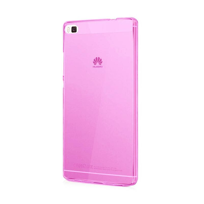 Ume Ultrathin Softcase Silicone Jellycase for Huawei P8 Lite - Pink