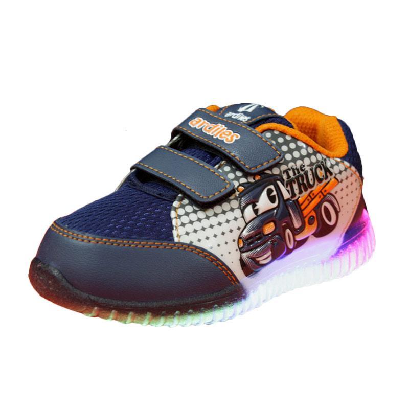 harga Ardiles New Ale Lampu Sepatu Anak - Biru Orange Blibli.com