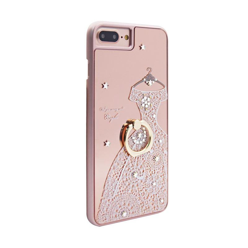 apbs® x Swarovski A Wedding Dress Ring Casing for iPhone 6 or 7 Plus - Pink